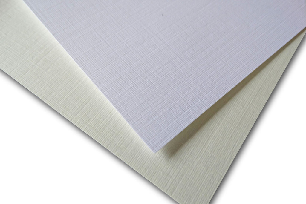 Classic Linen Natural Or White 80 Lb 8 5x11 Card Stock