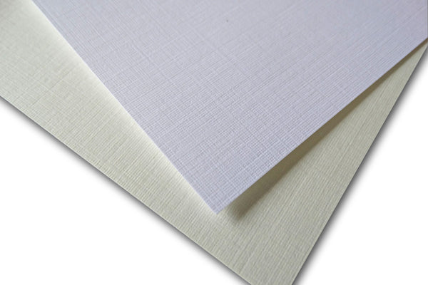 linen card stock for diy invitations and presentation documents