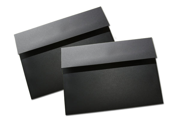 Black A6 Discount Envelopes