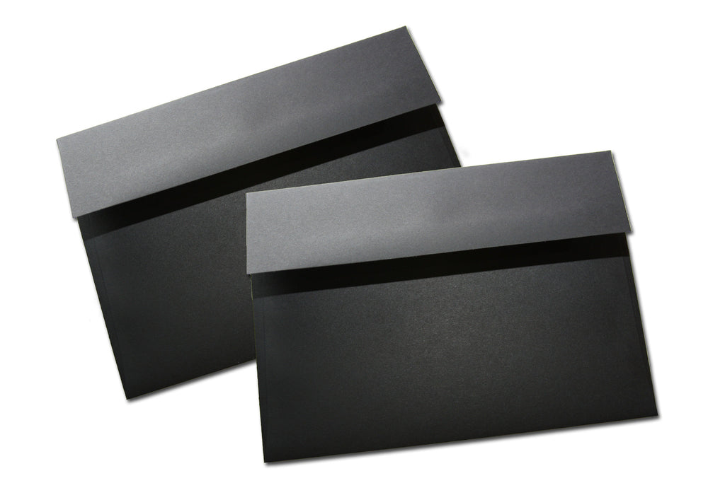black premium a7 envelopes for your 5x7 diy invitations cutcardstock