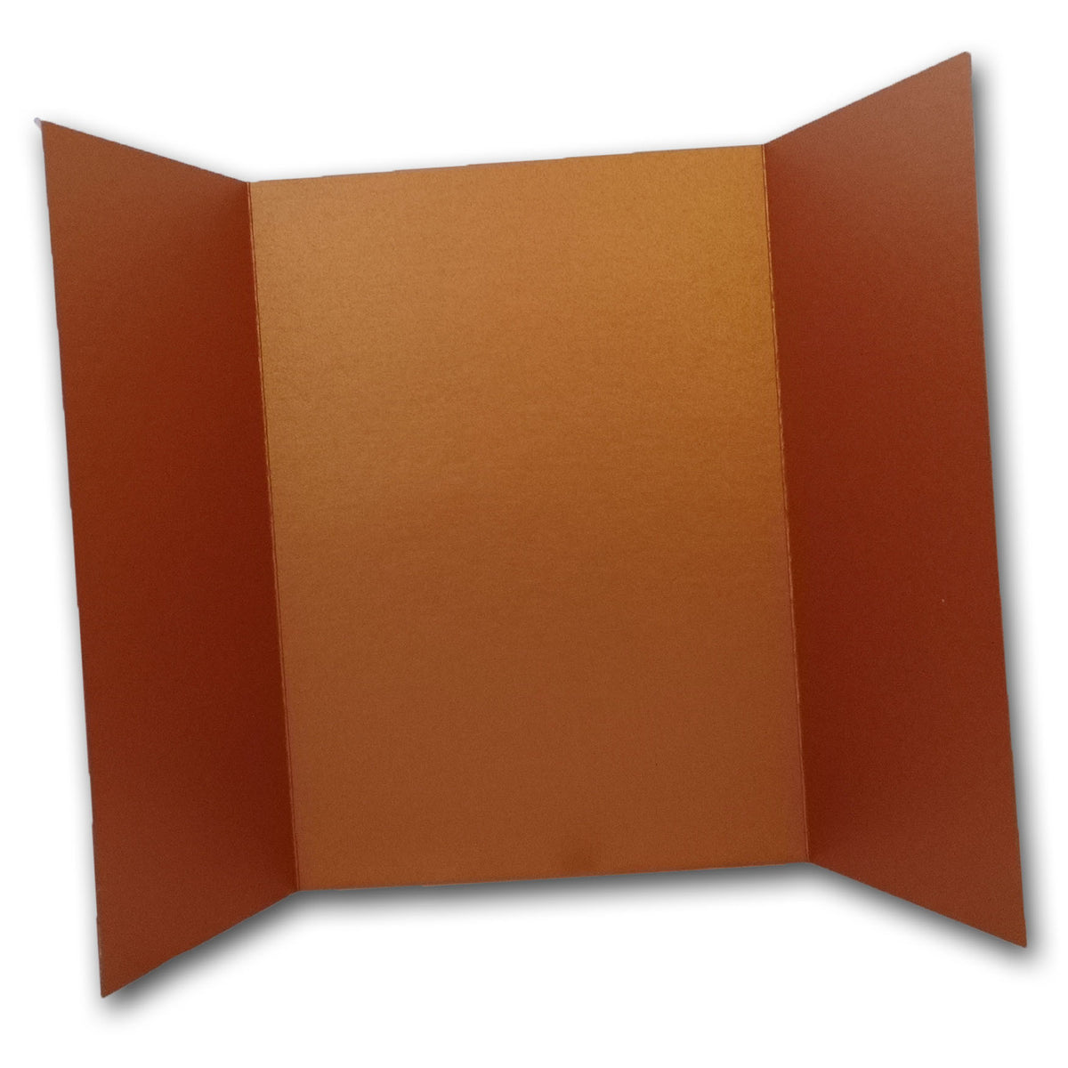 Shimmery Copper 5x7 Gatefold Discount Card Stock DIY Invitations