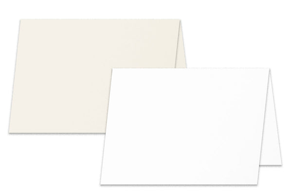 Blank premium DIY Folded Place cards