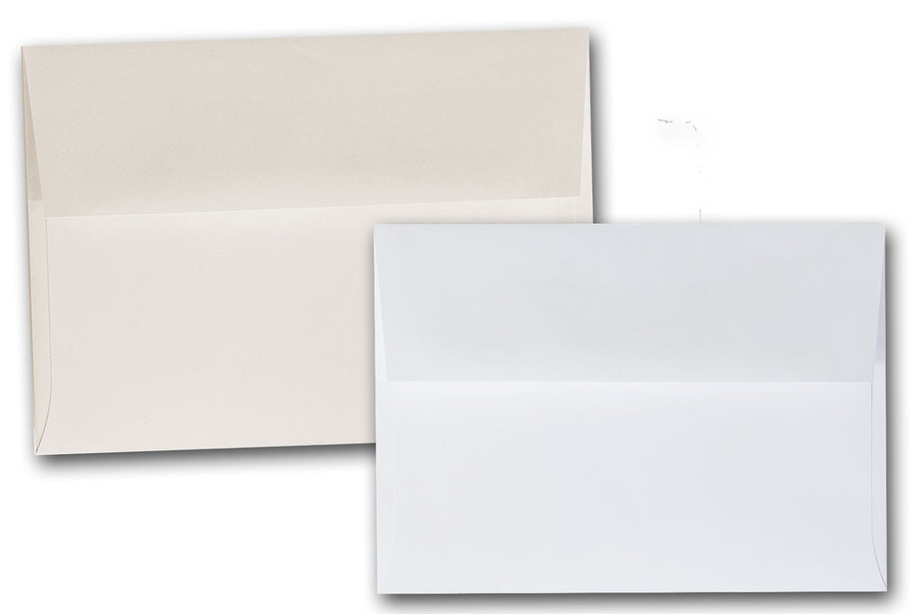 White And Ivory Envelopes For 5X7 Invitations And Announcements