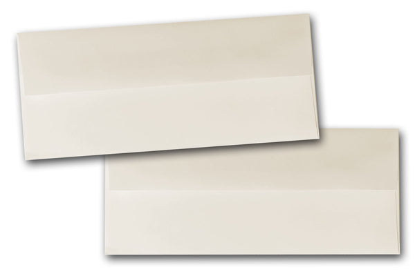 Natural No 10 Square flap envelopes
