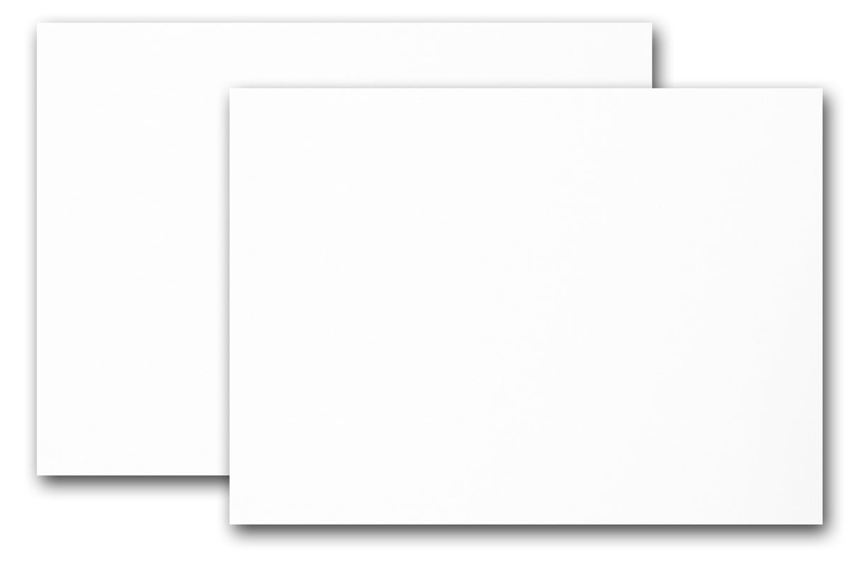 Print custom 4x6 discount card stock on white cardstock