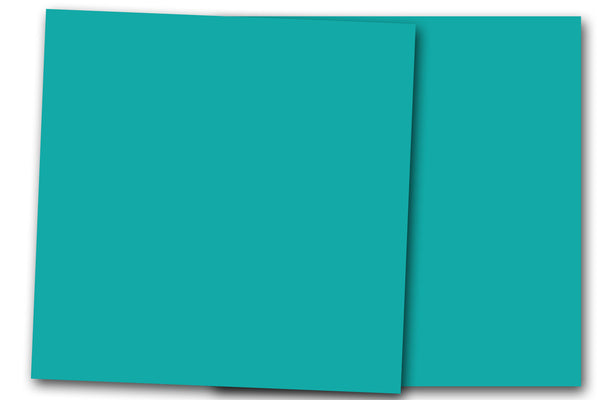 Aqua 12x12 Discount Card Stock