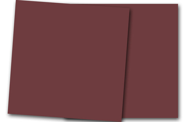 Burgundy 12x12 Discount Card Stock