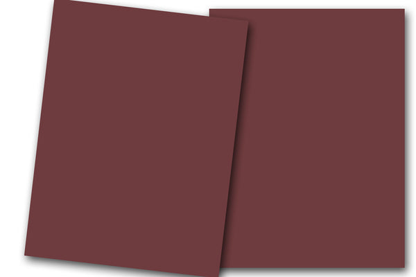 Burgundy Discount Card Stock