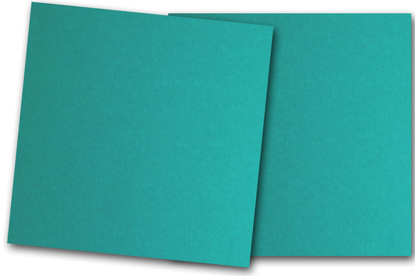 Teal 12x12 Discount Card Stock
