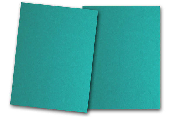 Teal Discount Card Stock