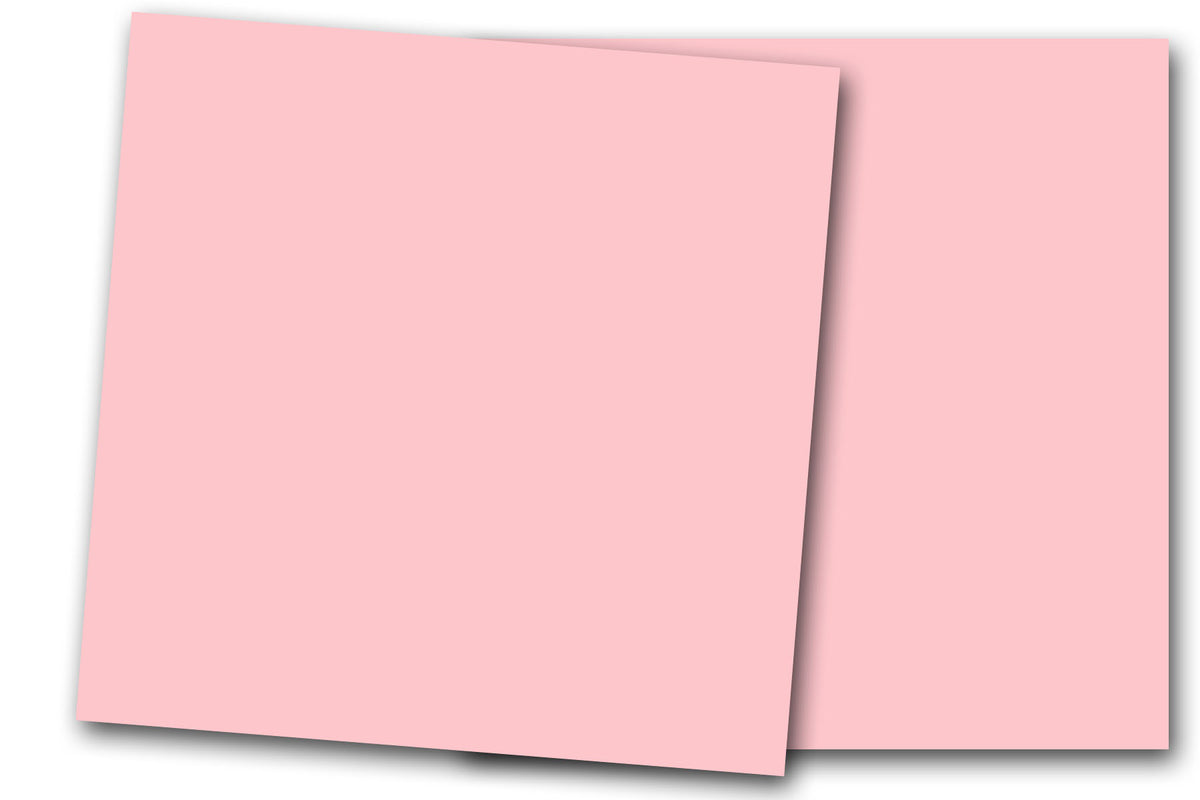 Pastel Pink 12x12 Discount Card Stock