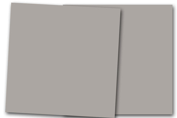 Gray 12x12 Discount Card Stock