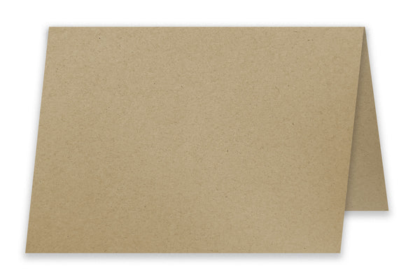 Desert Storm A6 Folded Discount Card Stock - Blank A6 Note Cards
