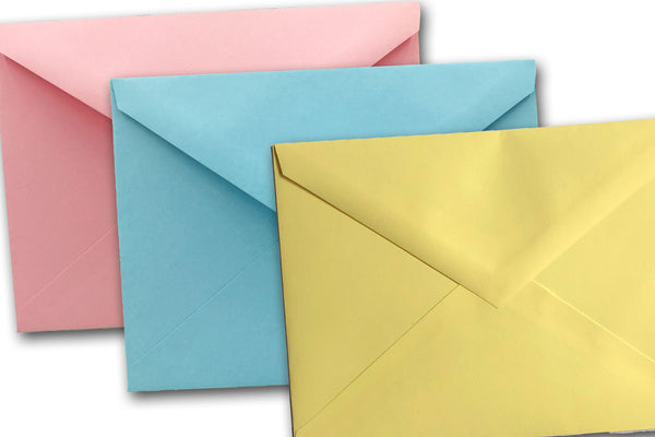 Pastel A6 and 6 Bar Discount Envelopes