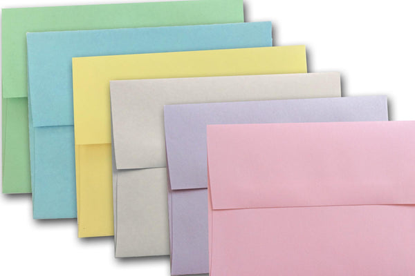 Pastel Notecard Envelopes
