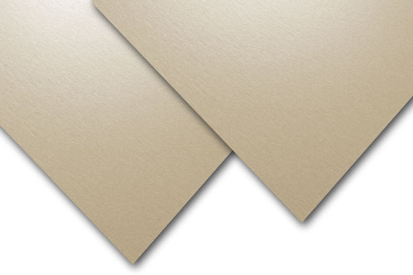 Metallic Pearl Cocoa Champagne 80 lb text weight discount paper
