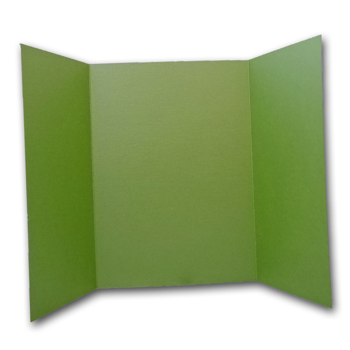 Shimmery Green 5x7 Gatefold Discount Card Stock DIY Invitations