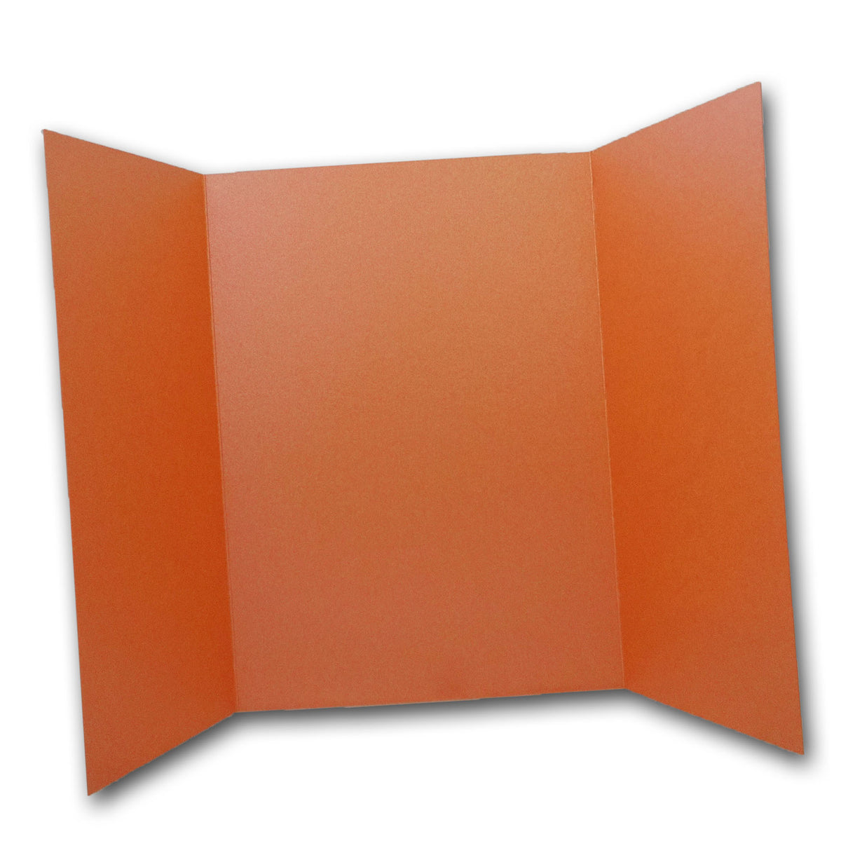 Shimmery Orange 5x7 Gatefold Discount Card Stock DIY Invitations