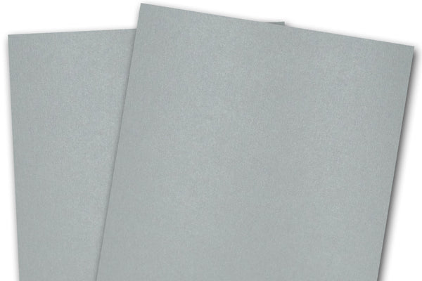 Metallic Silver Card Stock