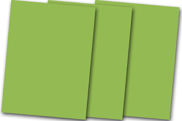 Apple Green Discount Card Stock