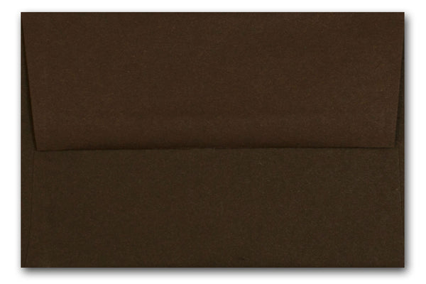POP-TONE Hot Fudge Brown A6 Envelopes 50 pack - Overstock