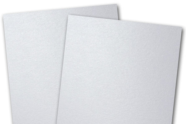 Shimmery White Card Stock