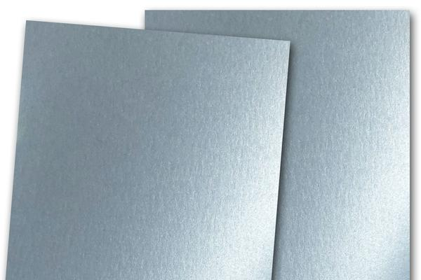 Blank Metallic A7 Discount Card Stock - Blue