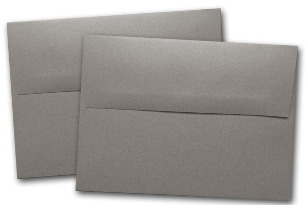 Curious Metallic Ionized Grey A2 Envelopes - 25 pk - Overstock
