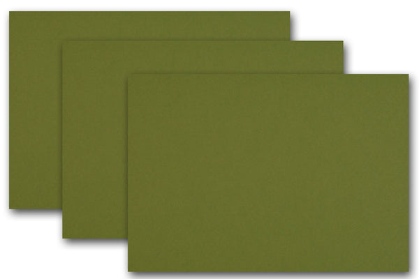 Olive Green Discount Card Stock Paper