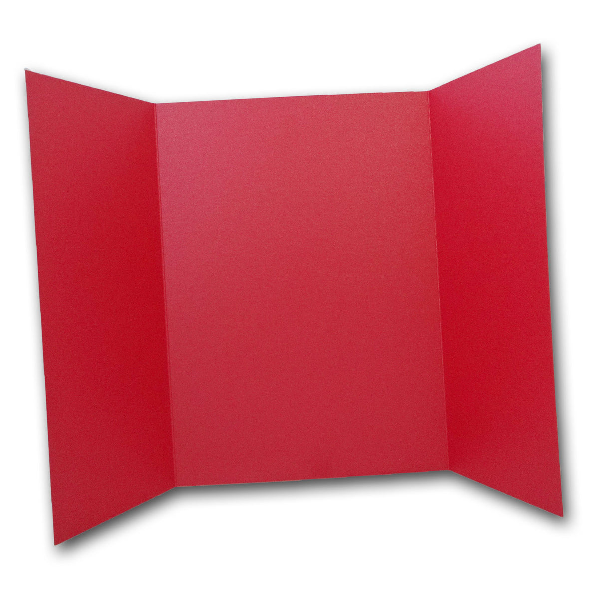 Shimmery Red 5x7 Gatefold Discount Card Stock DIY Invitations