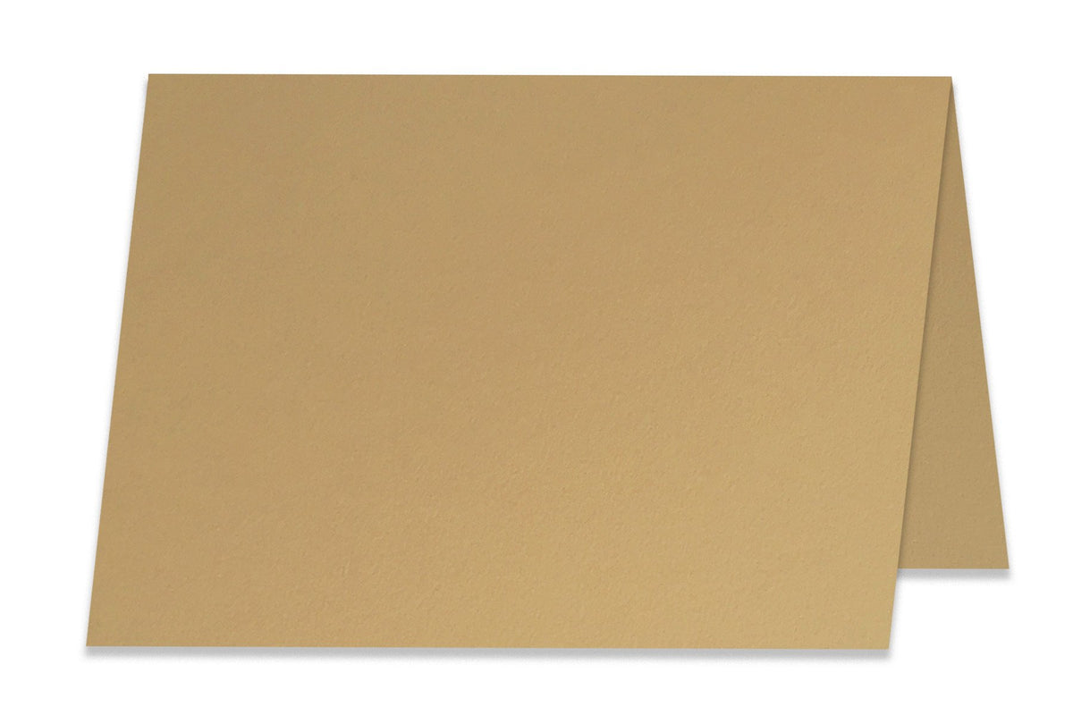 Basic Light Brown 5x7 Folded Discount Card Stock