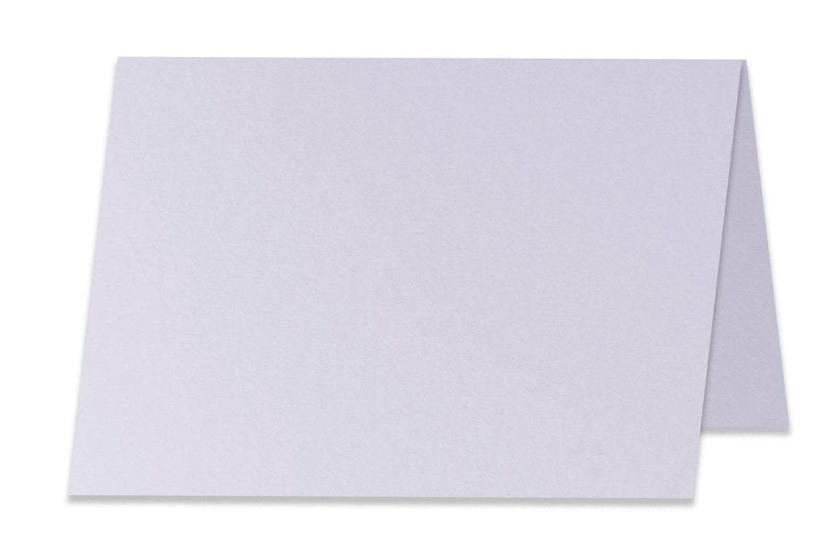 Basic Lilac 5x7 Folded Discount Card Stock
