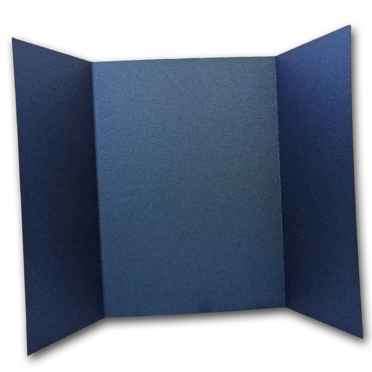 Shimmery Navy 5x7 Gatefold Discount Card Stock DIY Invitations