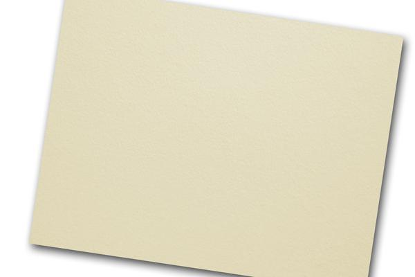 Cotton Ivory A9 Discount Card Stock