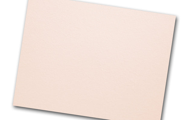 Blush Cotton Discount Card Stock