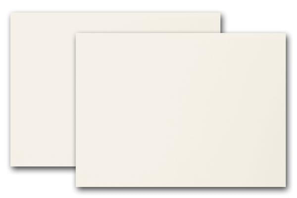 Ivory 5x7 Discount Card Stock