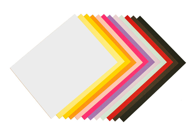 Blank Colorful RSVP Card Stock
