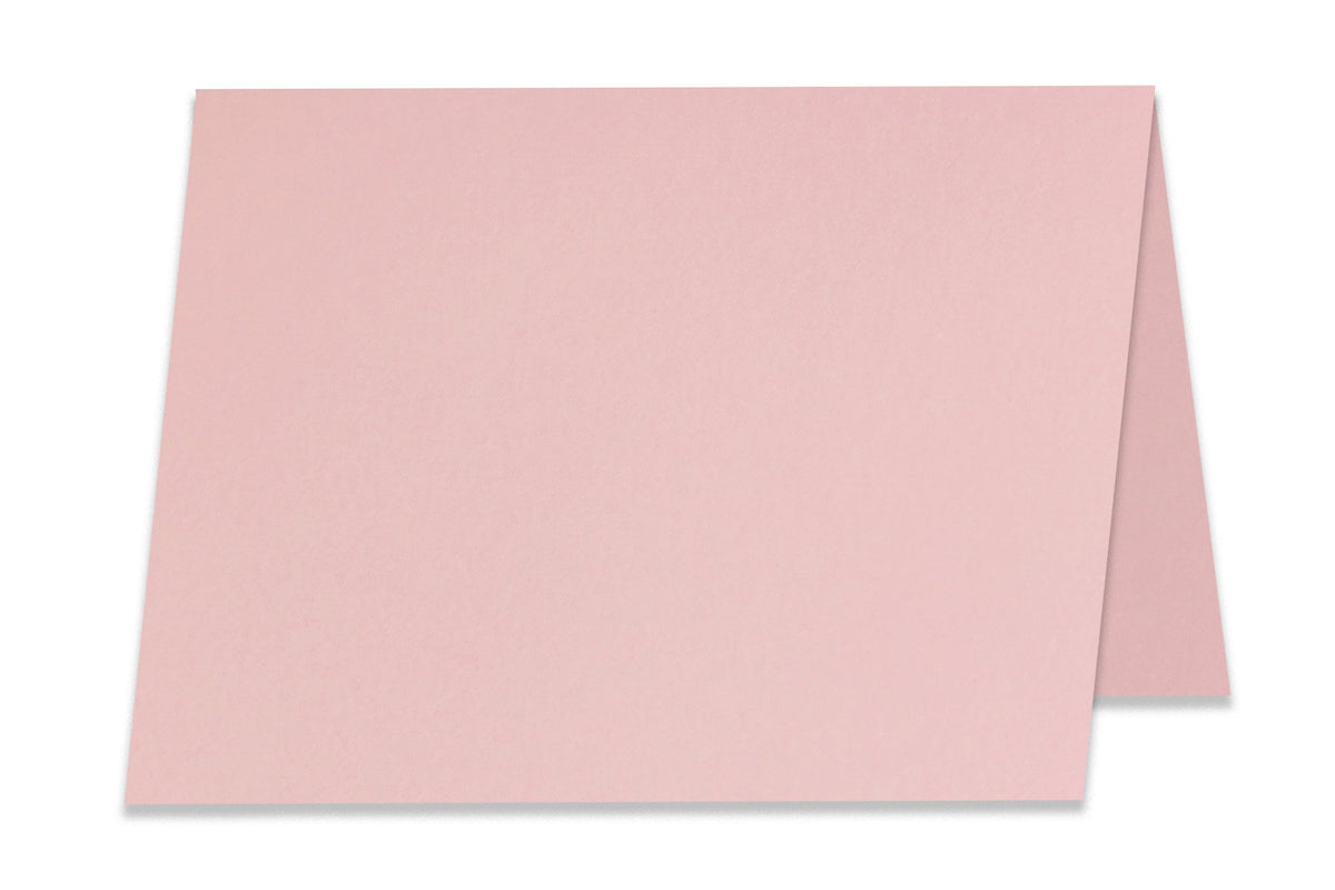 Basic Pink 5x7 Folded Discount Card Stock