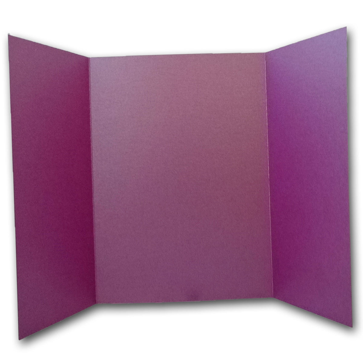 Shimmery Purple Punch 5x7 Gatefold Discount Card Stock DIY Invitations