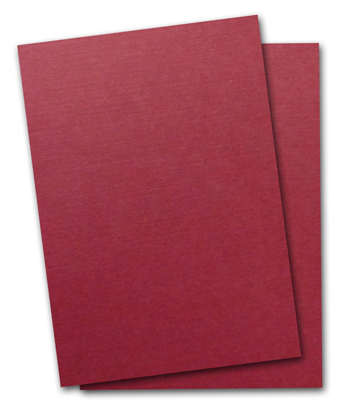 Royal Sundance Linen BURGUNDY 80 lb Card Stock 8.5x11 - 25 ...