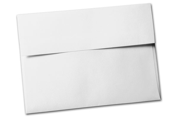Royal sundance White Felt A7 Envelopes
