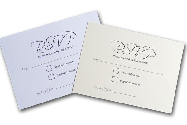 Cheap RSVP Cards