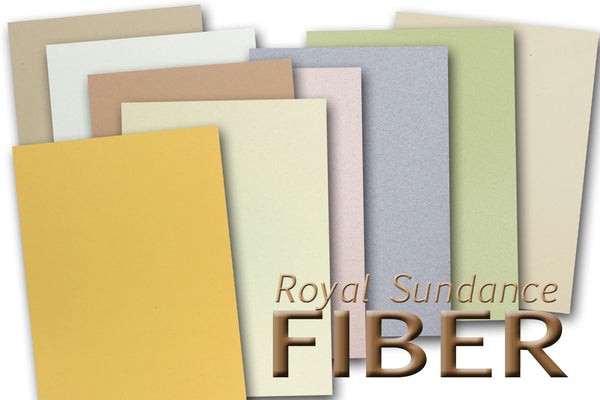 Royal Sundance Fiber card stock