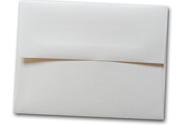 White Linen Envelopes