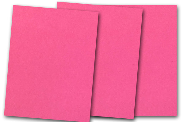 DCS Discount 8.5x11 Card Stock: Raspberry Ice Pink - 20 Sheets