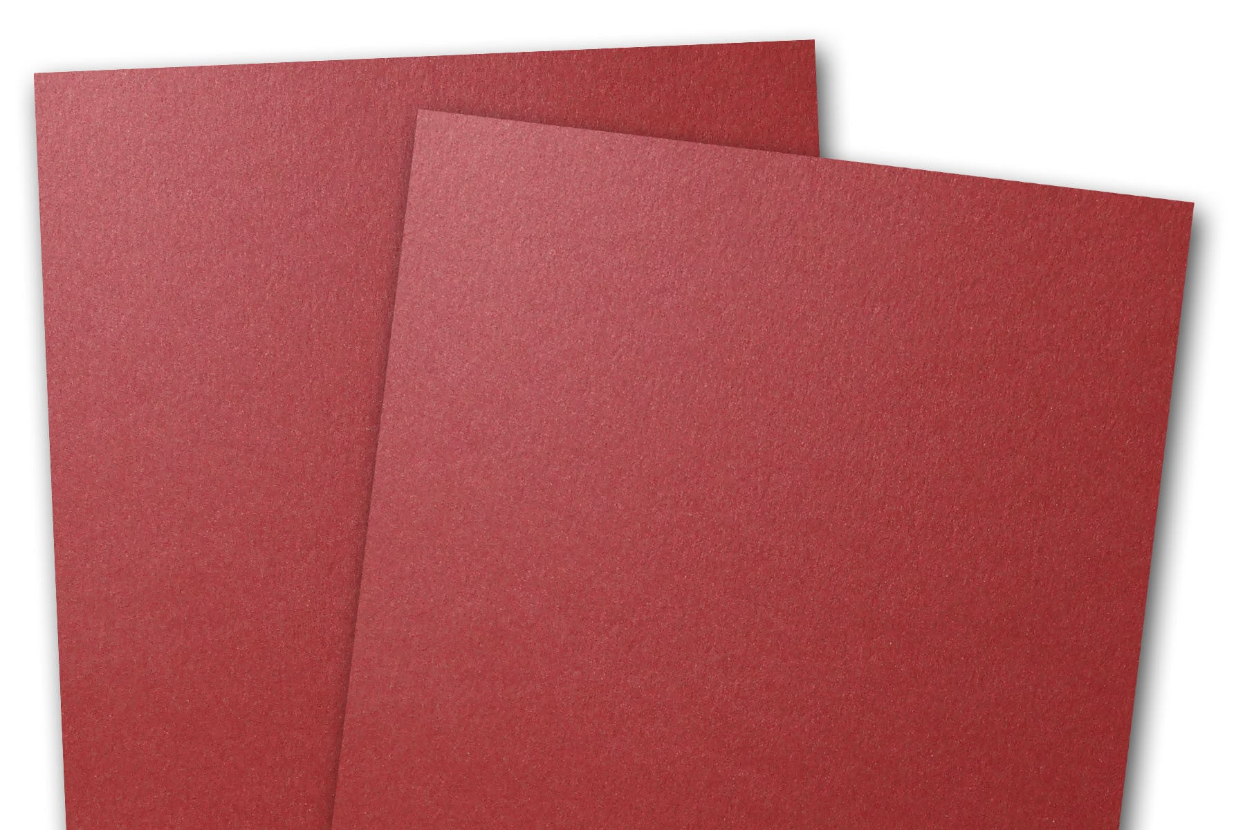 Curious Metallic Red Lacquer 85x11 Cardstock 25 Pk