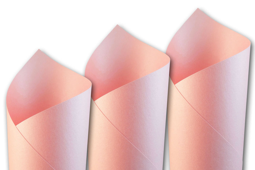 Shimmery Pink Cardstock For Diy Wedding Invites And Baby