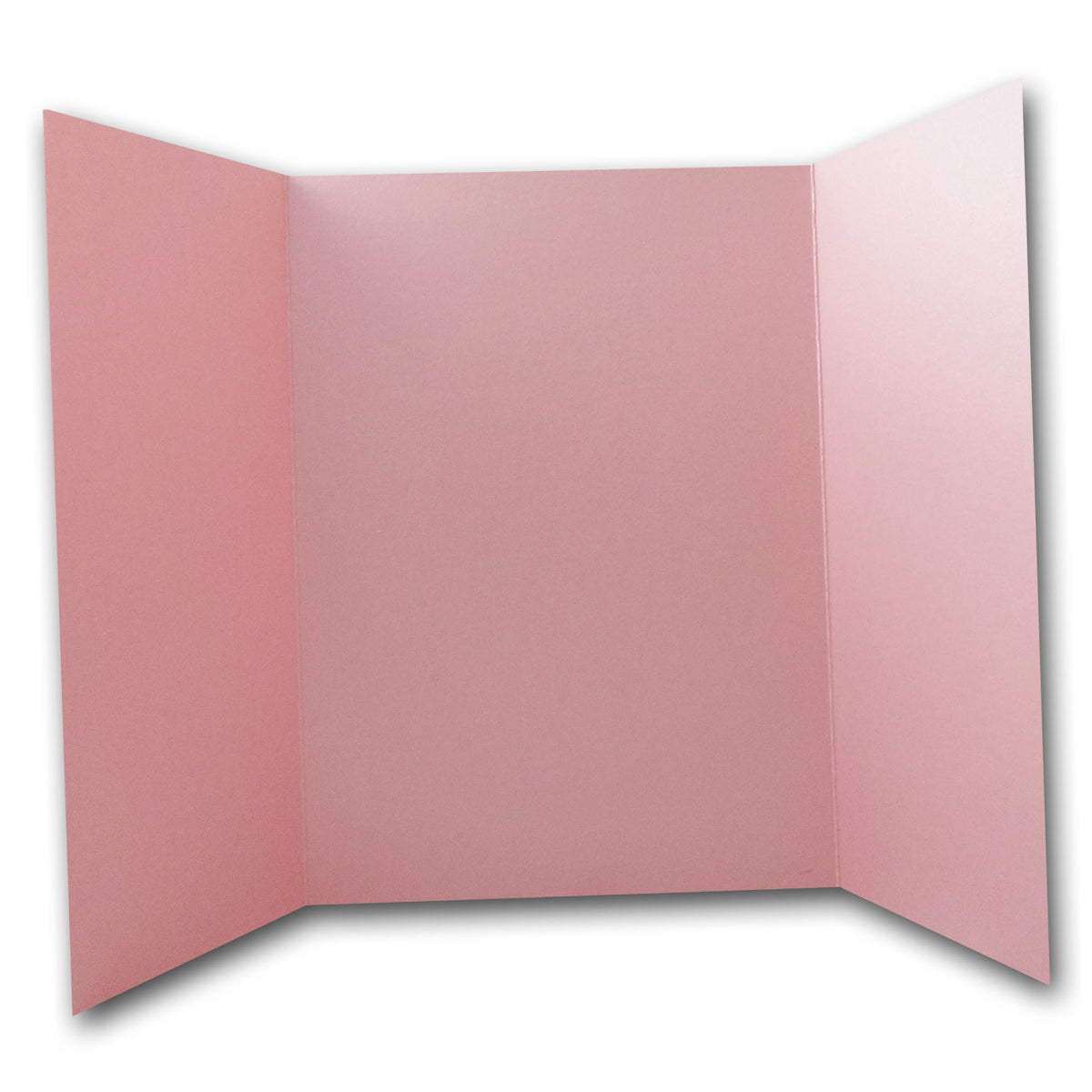 Shimmery Pink 5x7 Gatefold Discount Card Stock DIY Invitations
