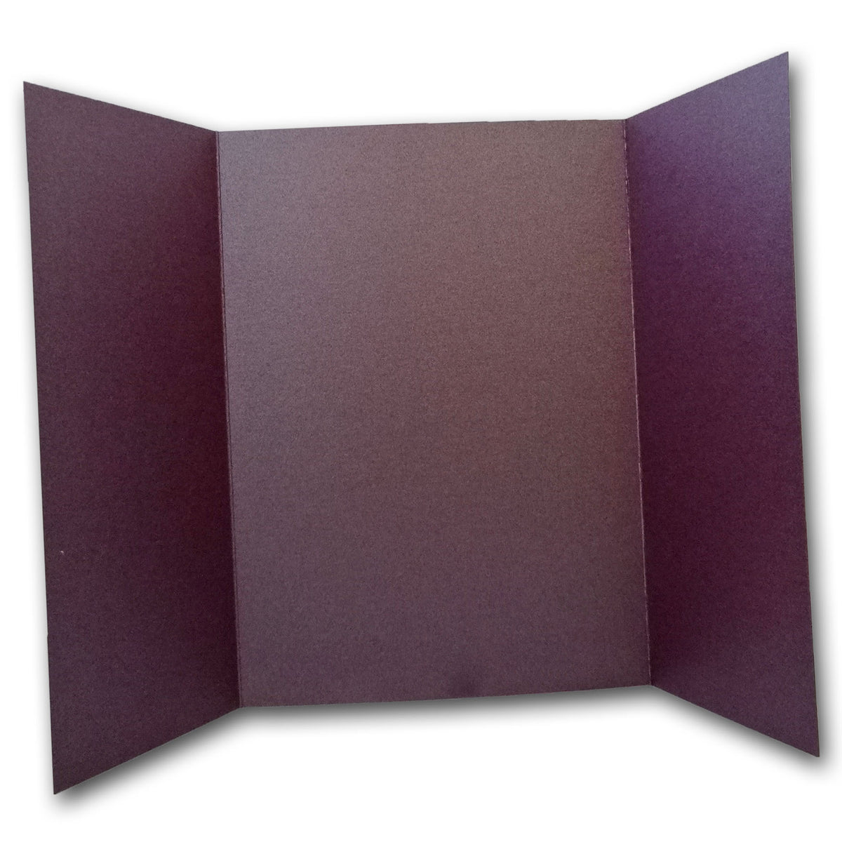 Shimmery Ruby 5x7 Gatefold Discount Card Stock DIY Invitations