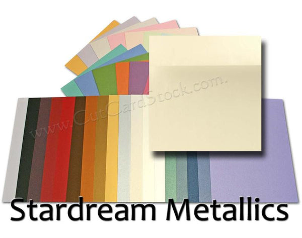Stardream Metallic SQUARE Envelopes